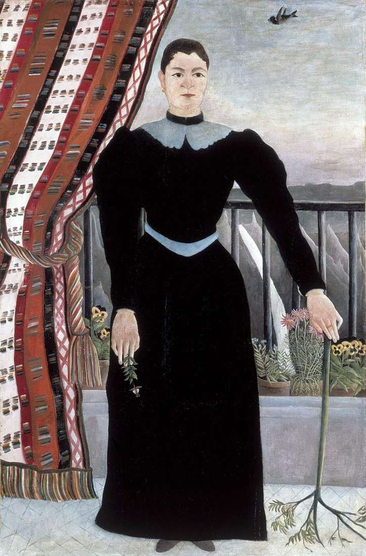 Retrato de una mujer   Henri Rousseau