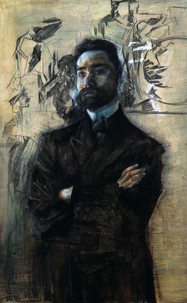Retrato de V. Ya. Bryusov   Mikhail Vrubel