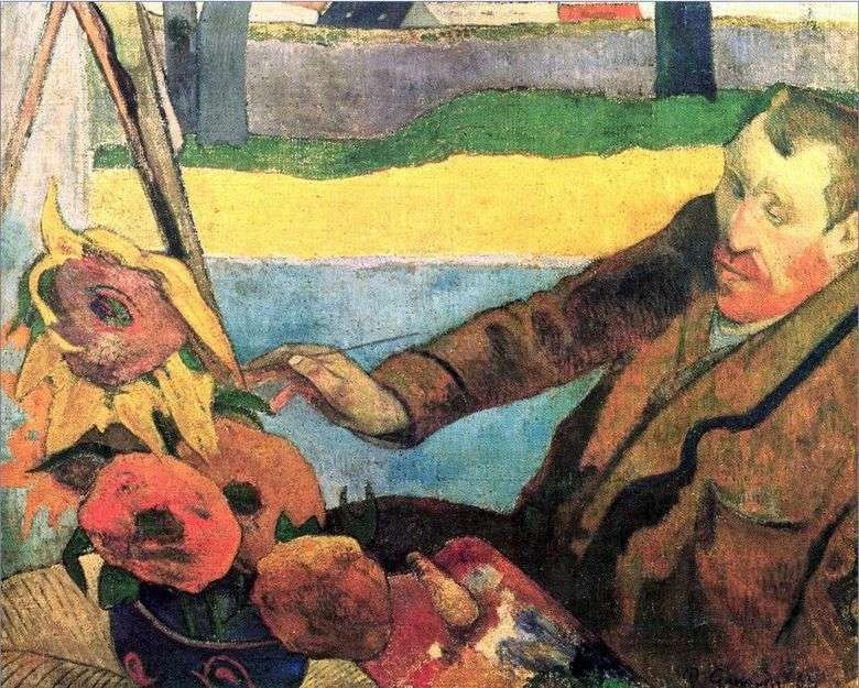Retrato de Van Gogh   Paul Gauguin