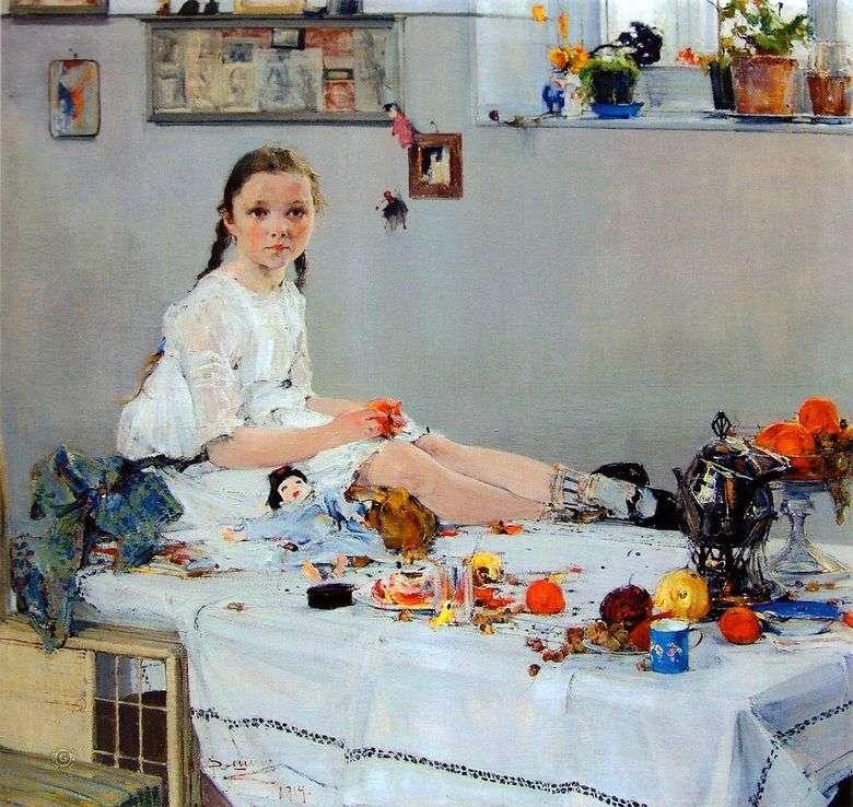 Retrato de Vary Adoratskaya   Nikolay Feshin