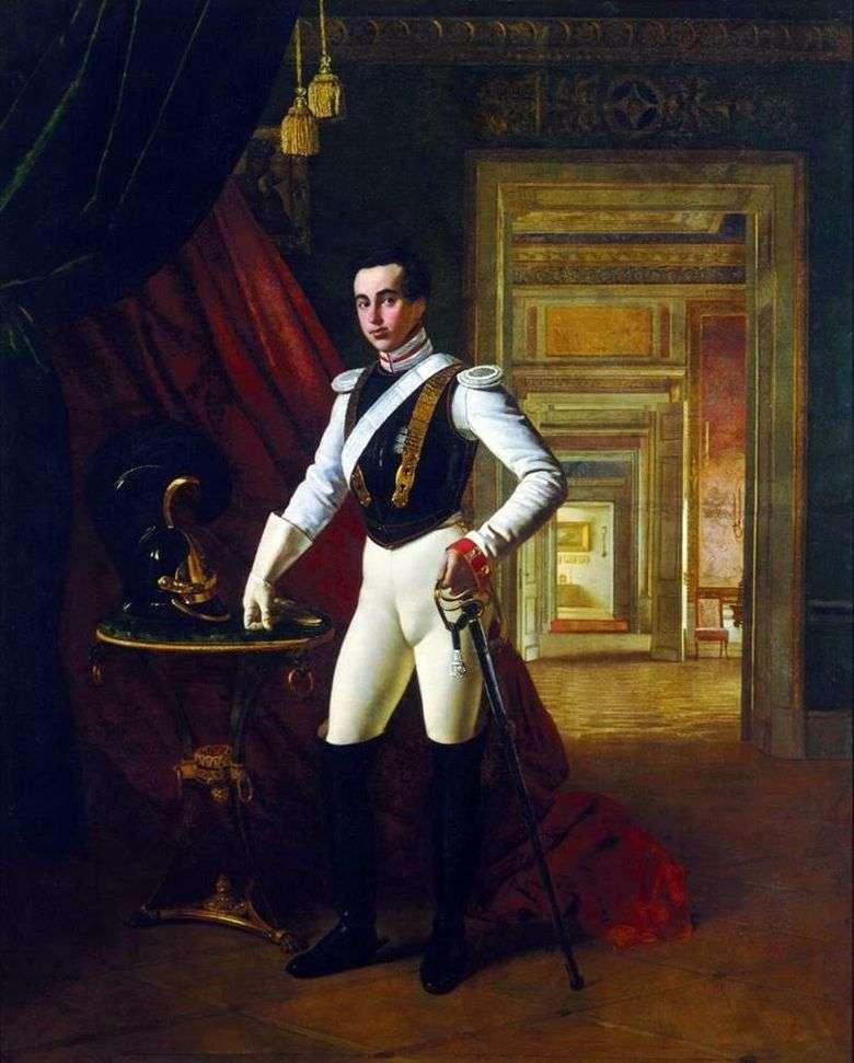 Retrato del conde D. N. Sheremetev   Orest Kiprensky