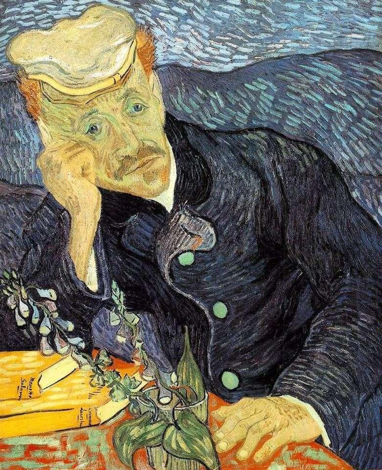 Retrato del Dr. Gachet   Vincent Van Gogh