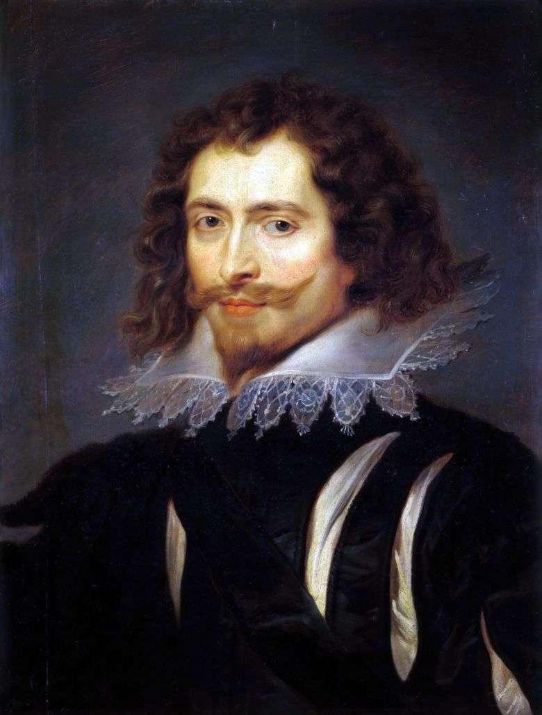 Retrato del duque de Buckingham   Peter Rubens