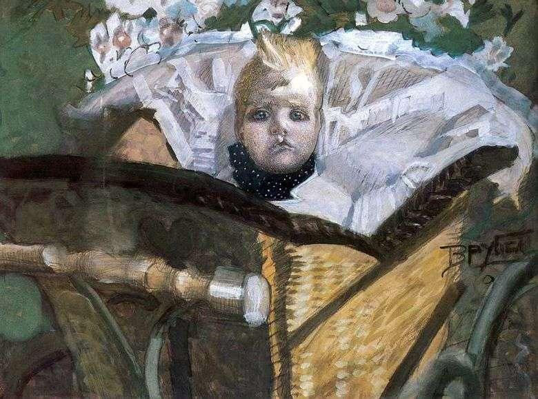 Retrato del hijo del artista   Mikhail Vrubel