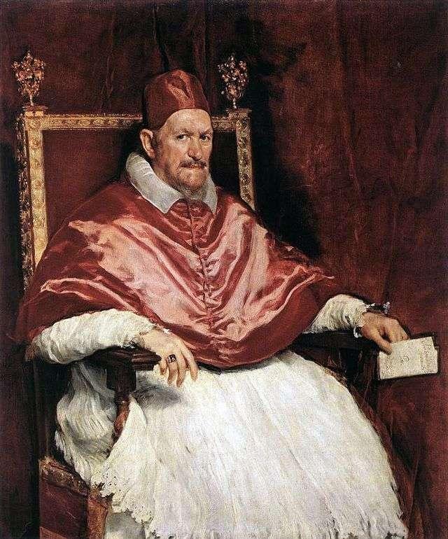 Retrato del papa Inocencio X   Diego Velásquez