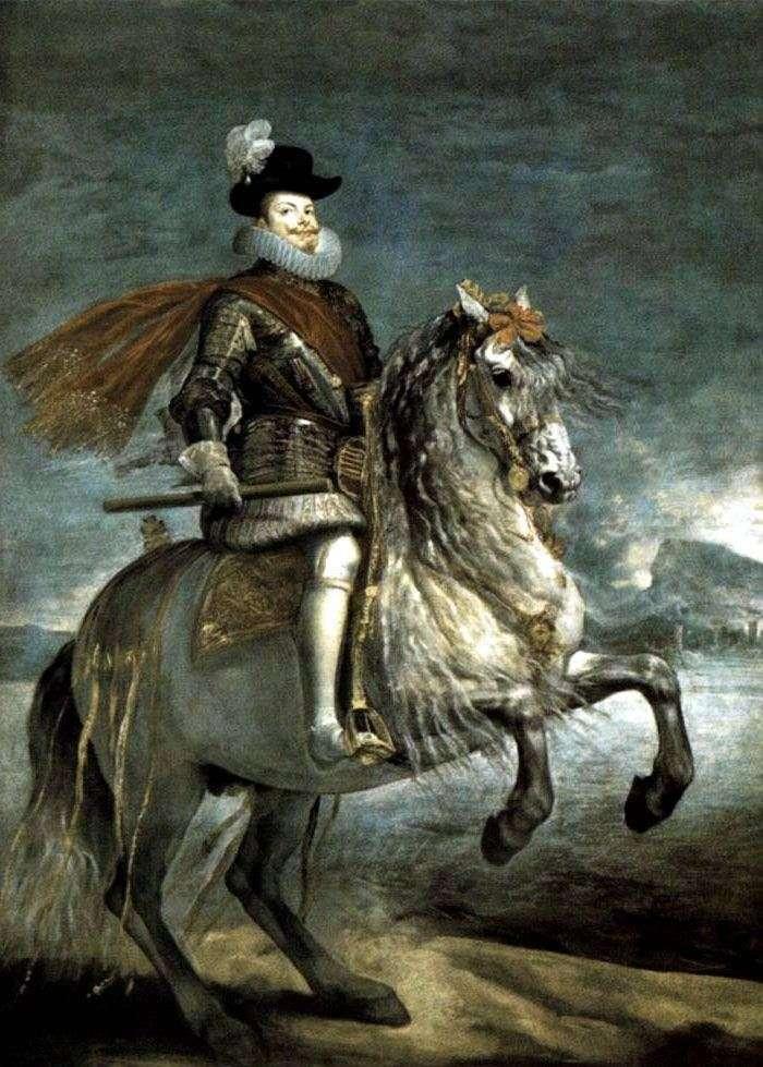 Retrato del rey Felipe III   Diego Velásquez
