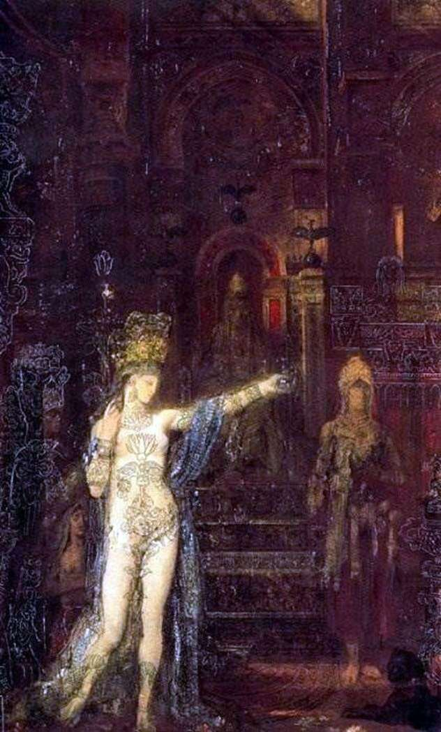 Salomé tatuado   Gustave Moreau