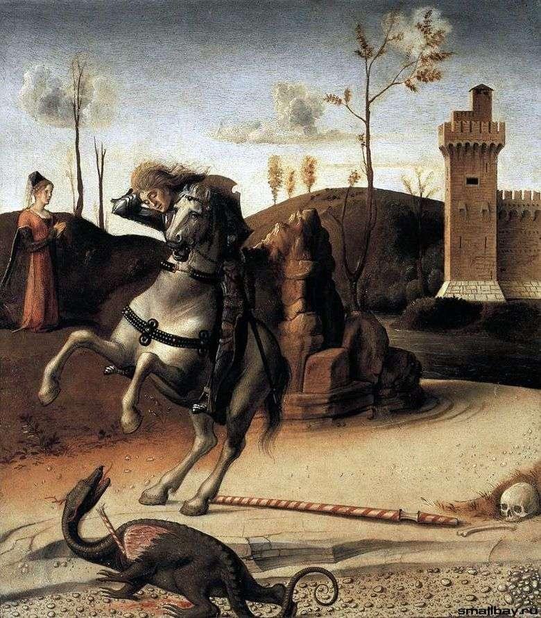San Jorge y el Dragón   Giovanni Bellini