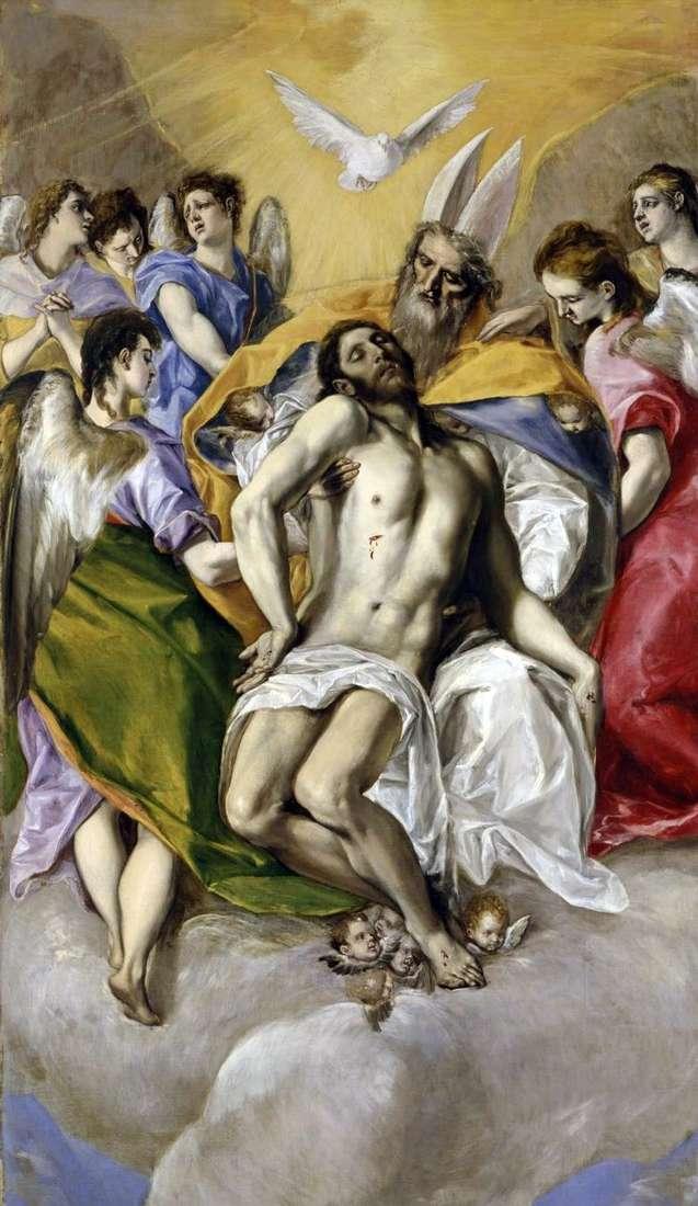 Santísima Trinidad   El Greco