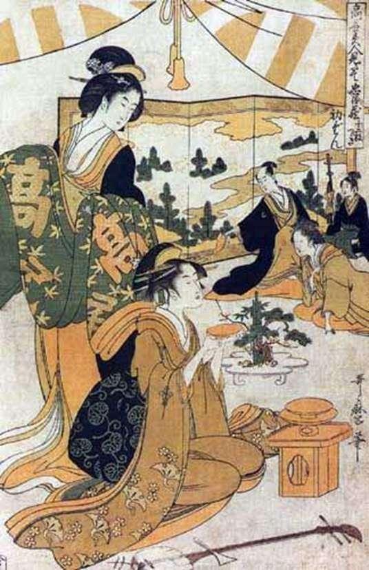 Sedan   Kitagawa Utamaro