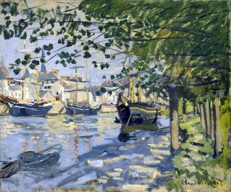 Sena en Rouen   Claude Monet