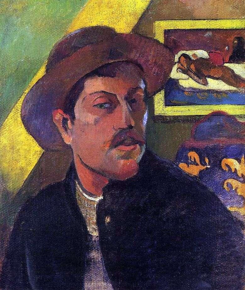 Sombrero Autorretrato   Paul Gauguin