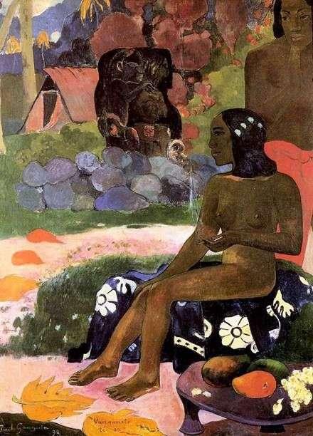 Su nombre es Wahrumati   Paul Gauguin