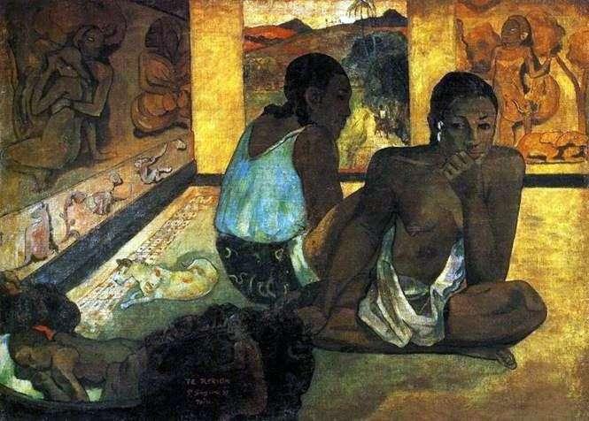 Sueño   Paul Gauguin