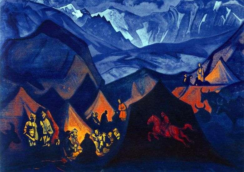 Susurros del desierto   Nicholas Roerich