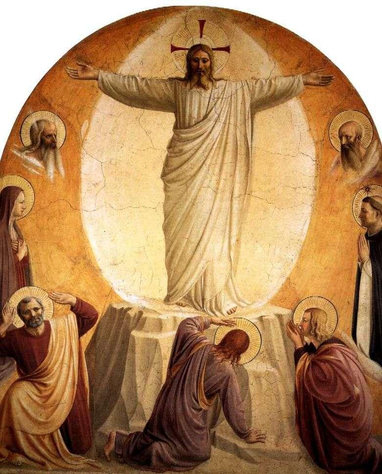 Transfiguración del Señor   Angelico Fra