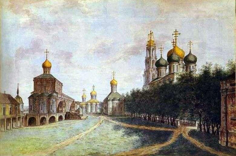 Trinidad Sergius Lavra   Fedor Alekseev
