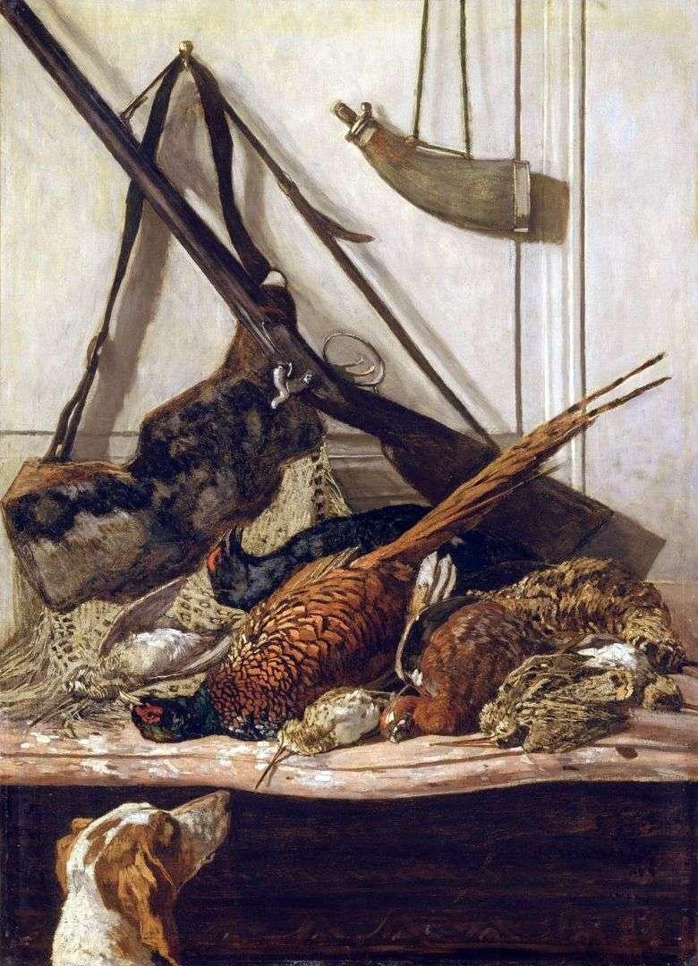 Trofeos de caza   Claude Monet