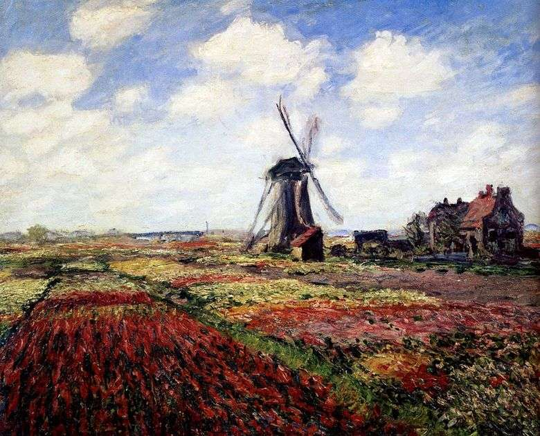 Tulipanes de Holanda   Claude Monet