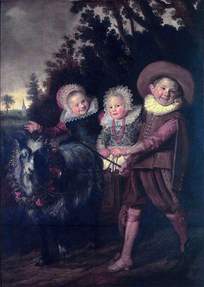 Un grupo de niños   Frans Hals