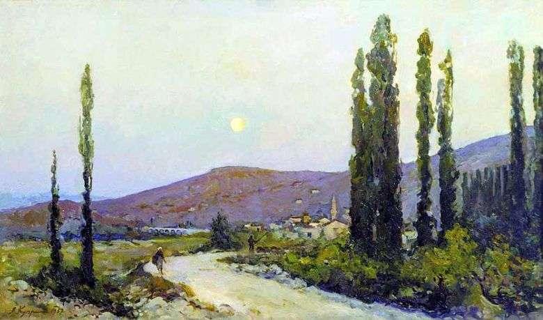 Valle de Beasal. Crimea   Alexander Kuprin