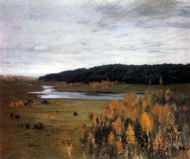 Valle del río   Isaac Levitan