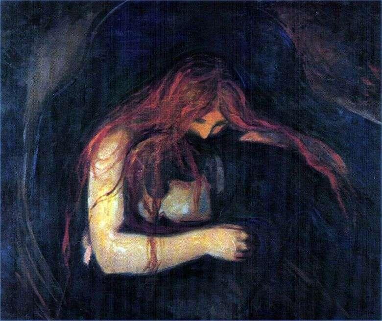 Vampiro   Edvard Munch