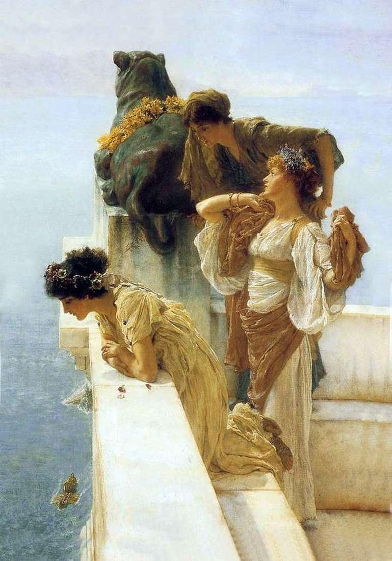 Vantage Point   Lawrence Alma Tadema
