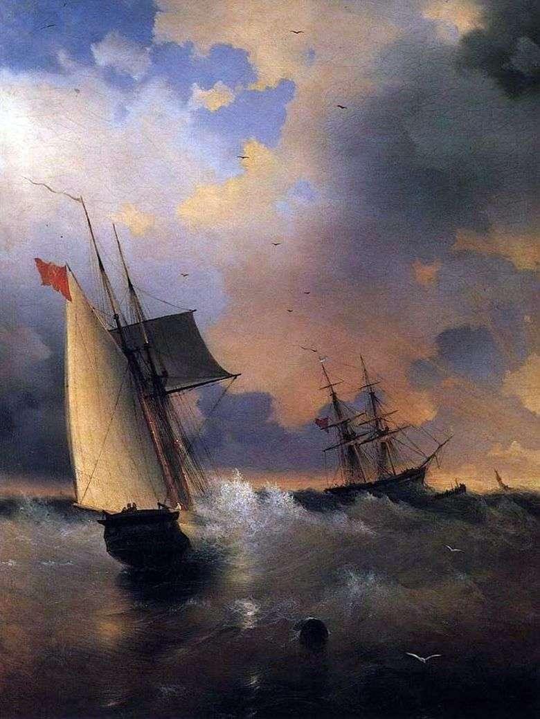 Velero   Ivan Aivazovsky