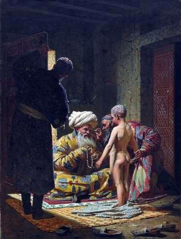 Venta de un niño esclavo   Vasily Vereshchagin