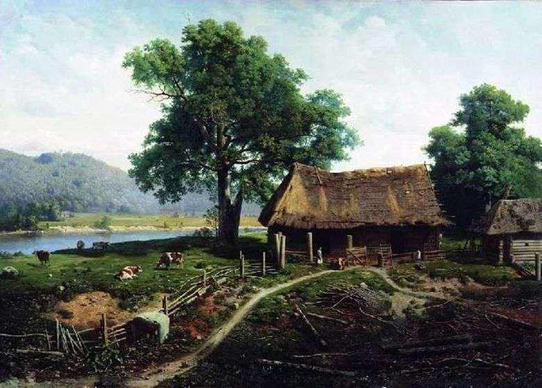 Vista de la isla de Valaam   Michael Klodt