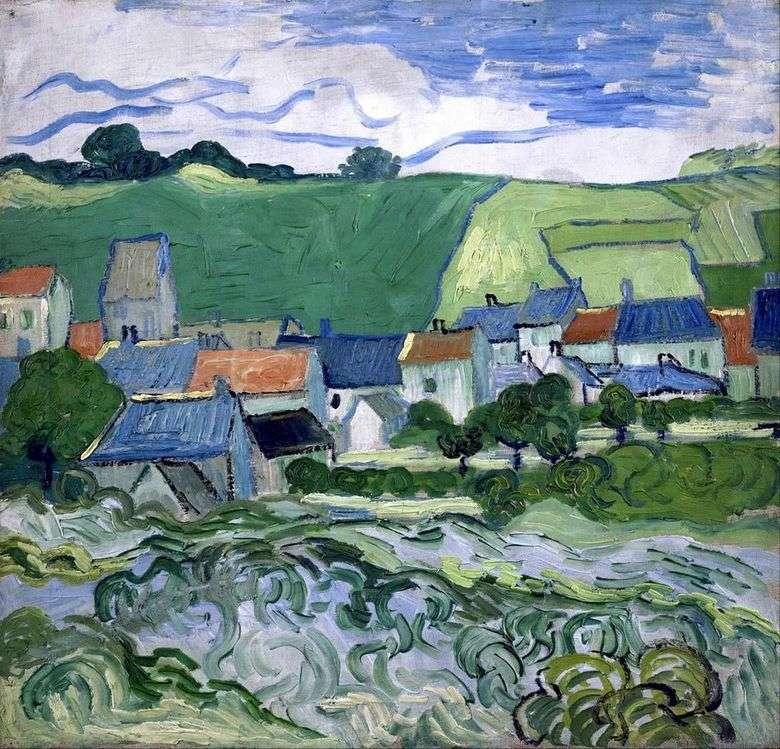 Vista de Over   Vincent Van Gogh