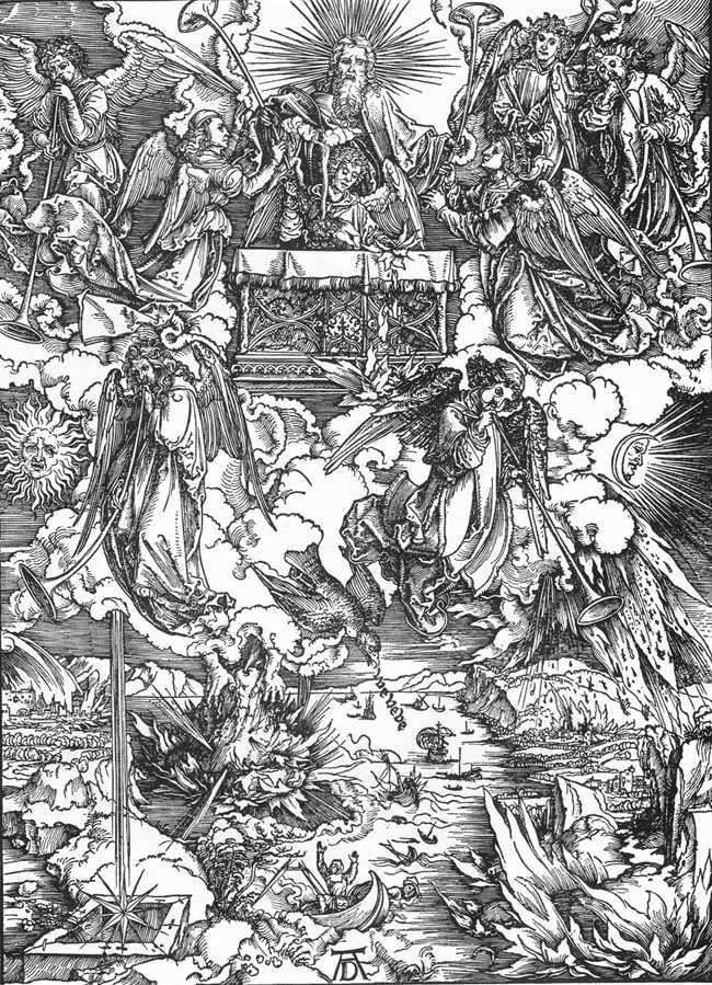 Voz de la trompeta   Albrecht Dürer