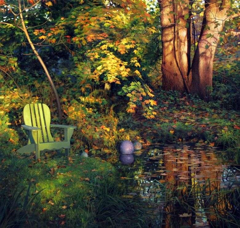 Yarda en el otoño   Scott Pryor