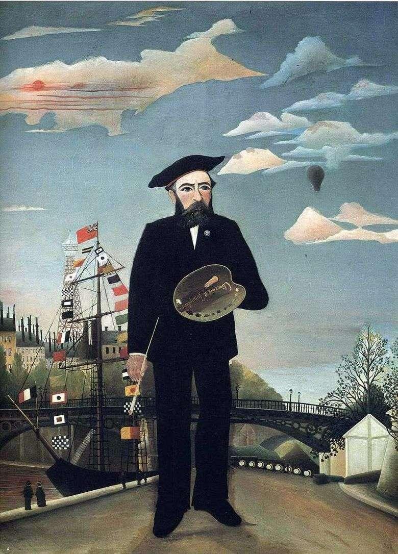 Yo mismo, retrato paisaje   Henri Rousseau
