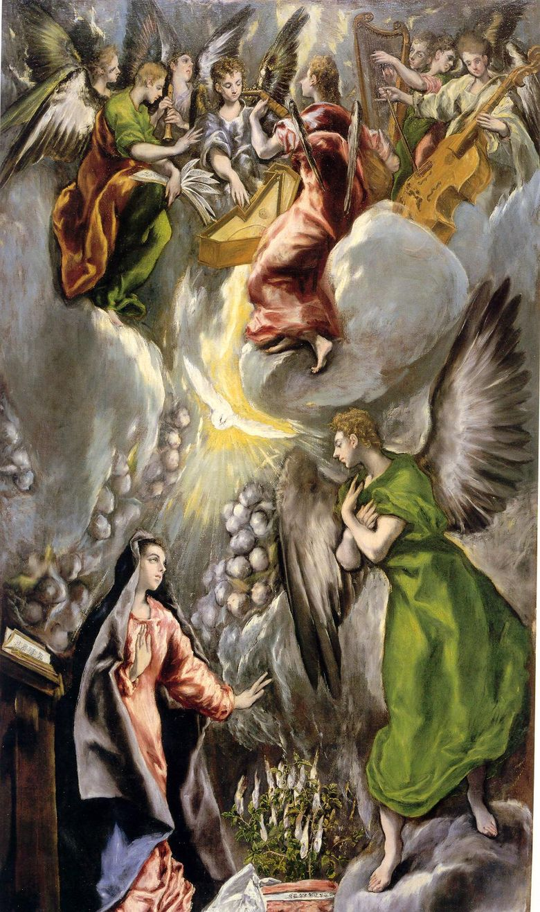 LAnnonciation   El Greco