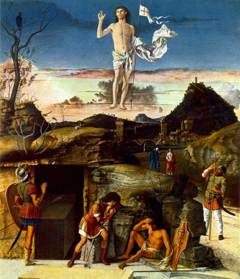 La résurrection du Christ   Giovanni Bellini