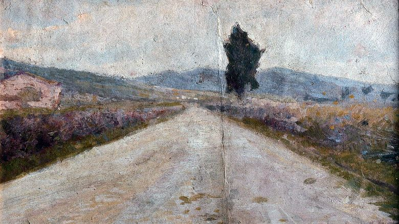 Route toscane   Amedeo Modigliani