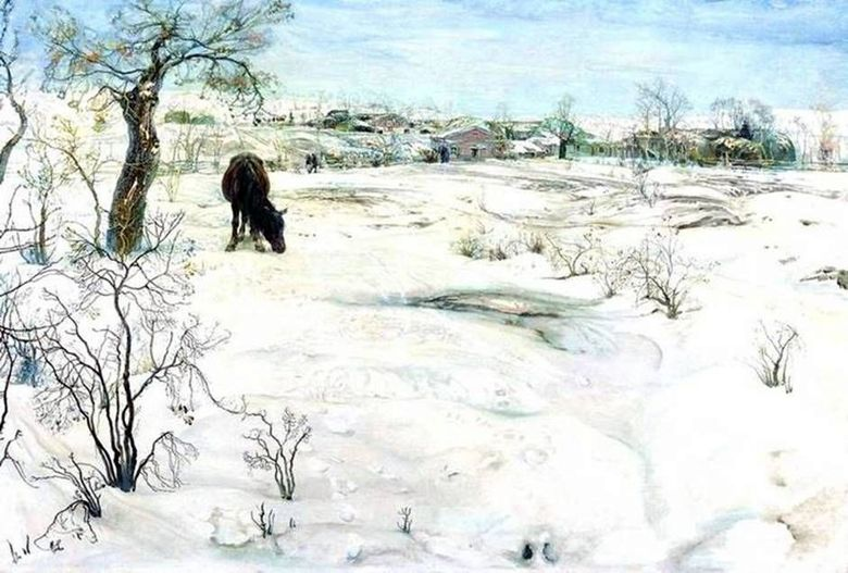 Hiver   Isaac Brodsky